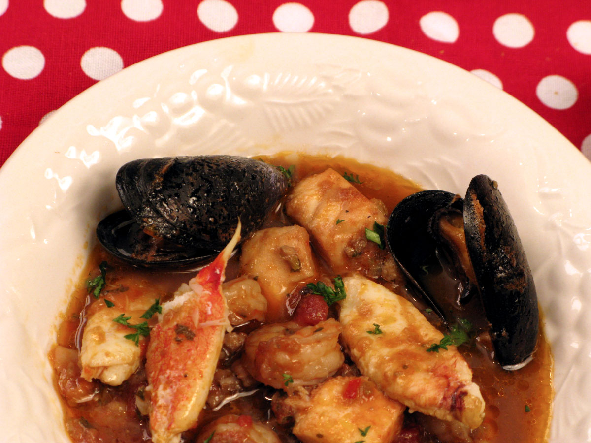 Lazy Man's Crab Cioppino
