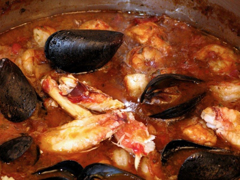 Cioppino - Close-up