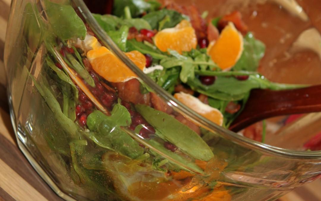 O.M.G. Spinach & Arugula Salad