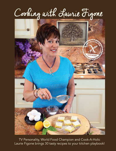 Cooking with Laurie Figone Cookbook
