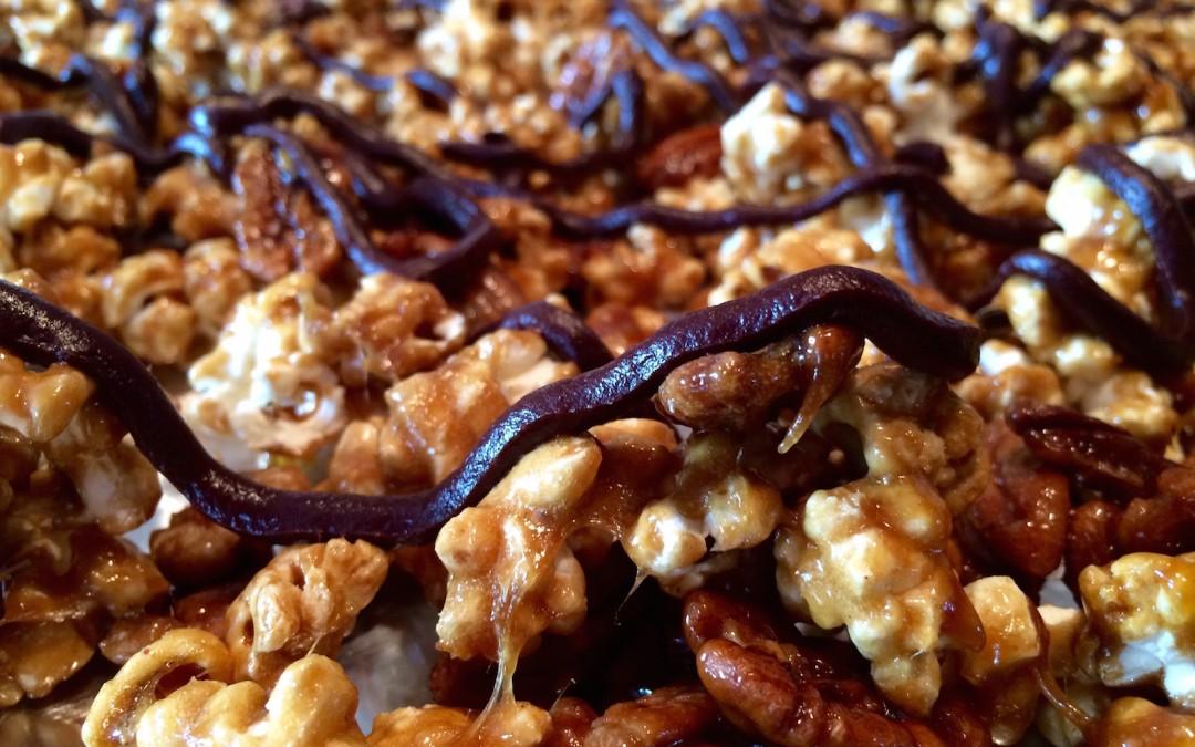 Sea Salted-Caramel-Pecan-Popcorn