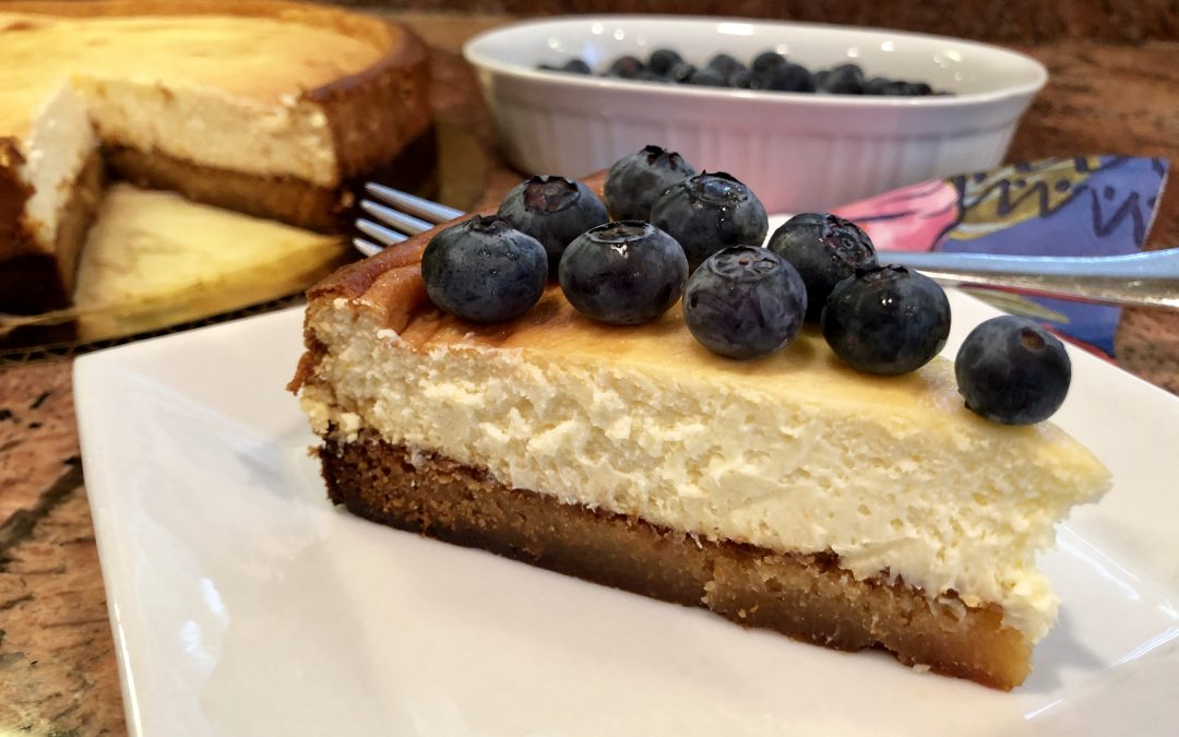Keto-Frangipane-Layered-Almond Cheesecake
